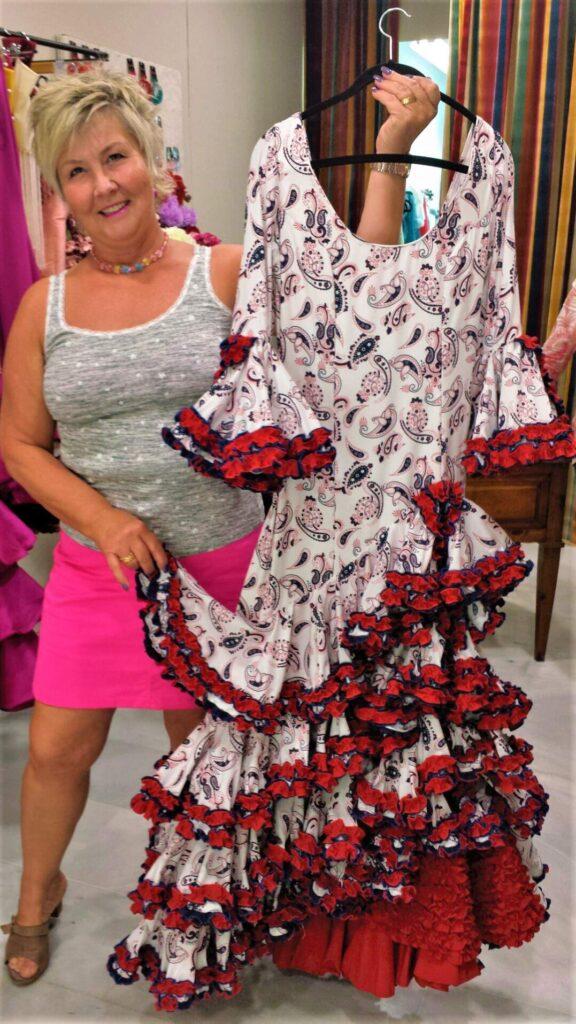 Spansk klänning