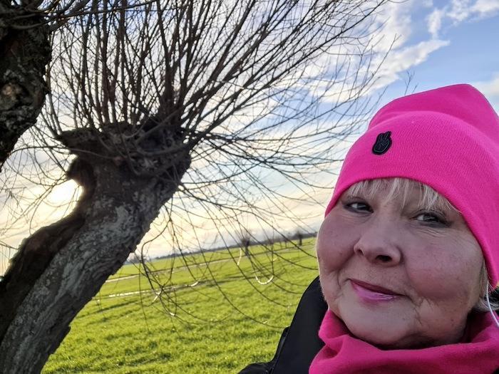 Annicka i rosa mössa