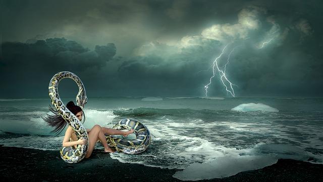 Dramatiskt väder