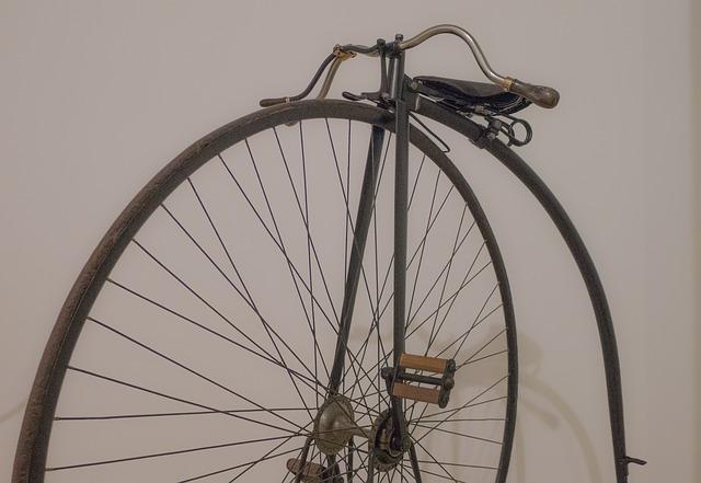 Gammaldags Enhjuling