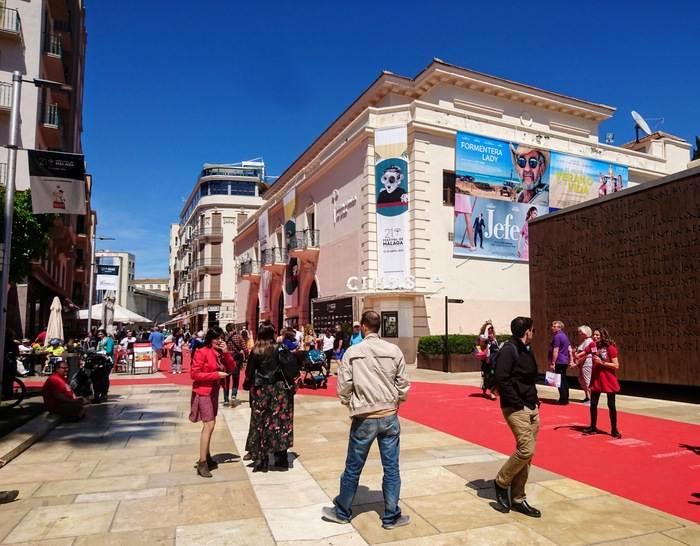 Röda mattan i Malaga