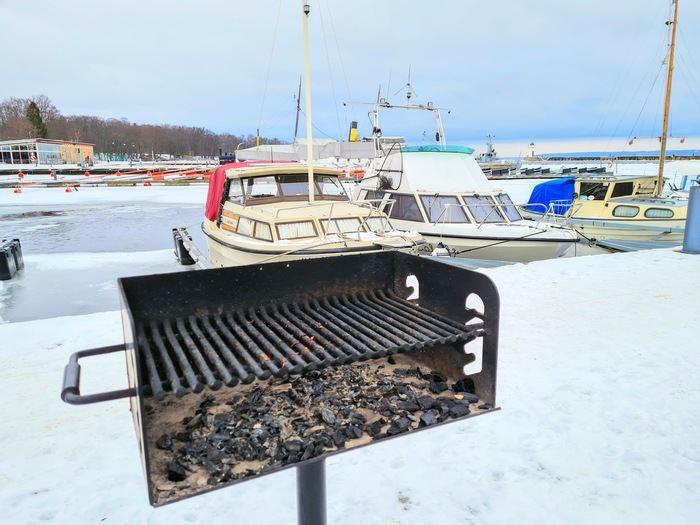 Grill på vintern