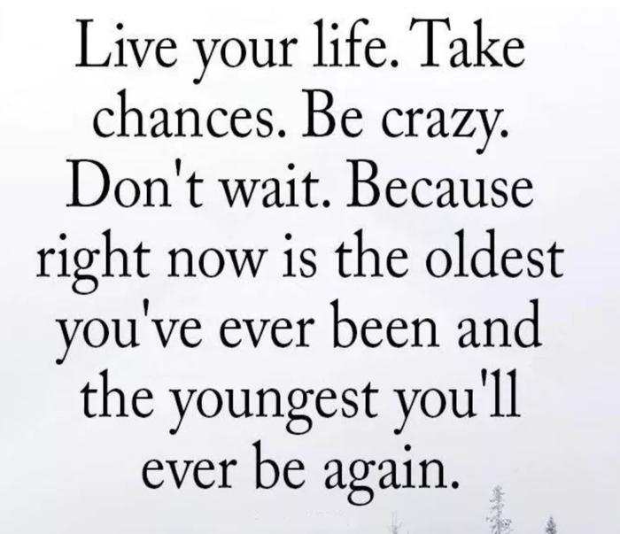 Skylt med Live your life