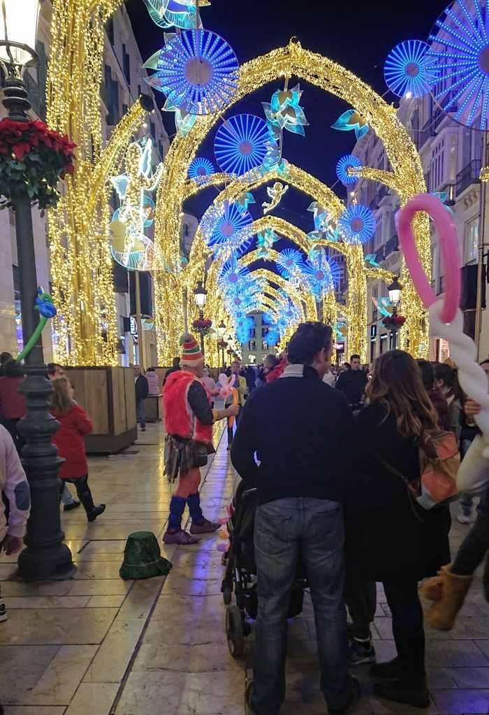 Ljusbåge i Malaga