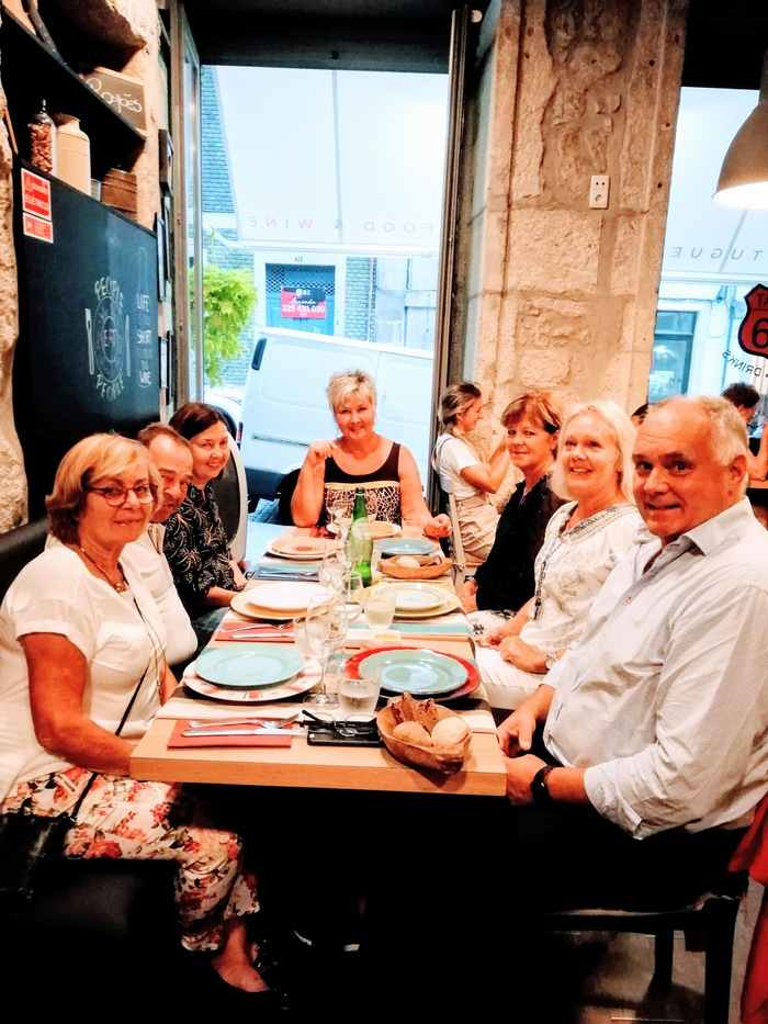 Middag i Porto