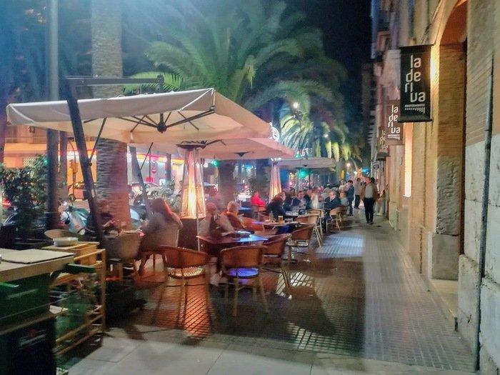 Mysig restaurang i Malaga