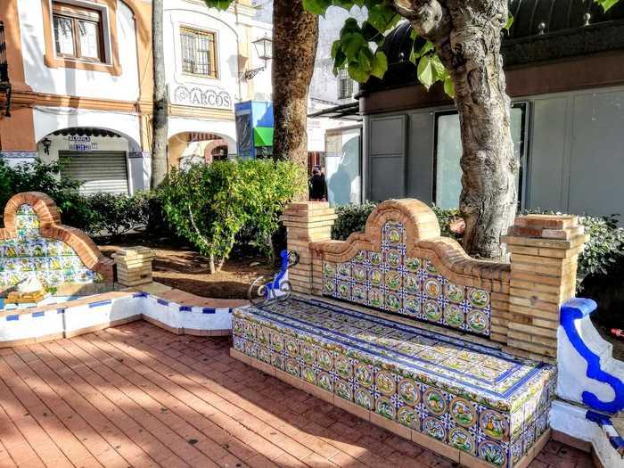 Spansk soffa