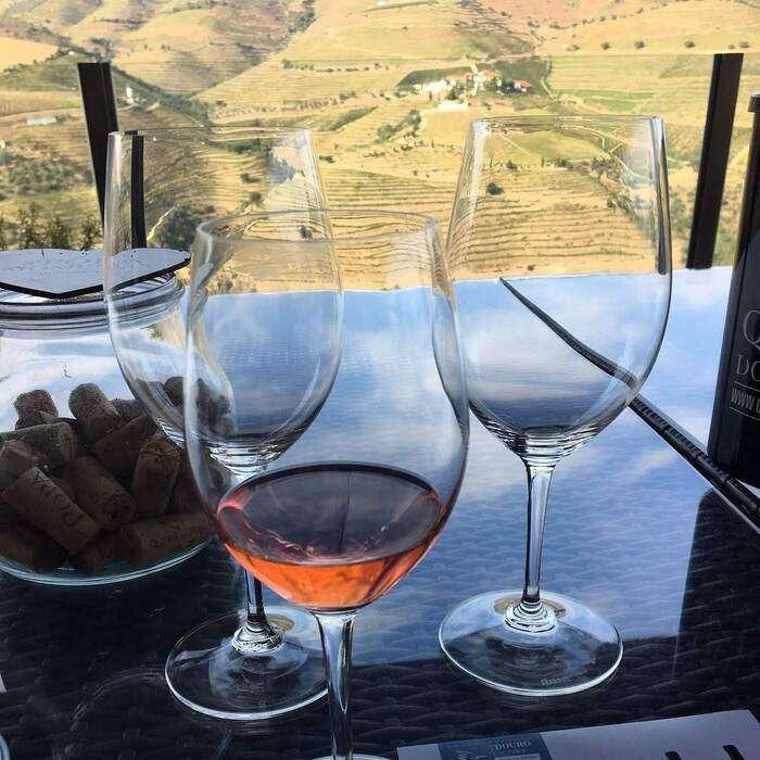 Vinprovning i Douro Portgal
